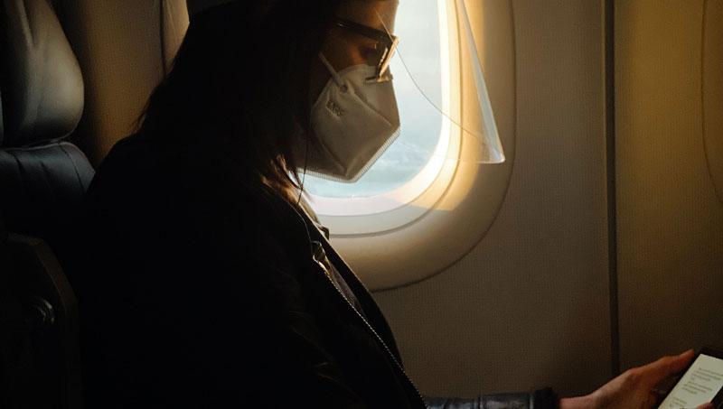 LifeTime Memoirs AirTravel Mask Camila Perez Unsplash