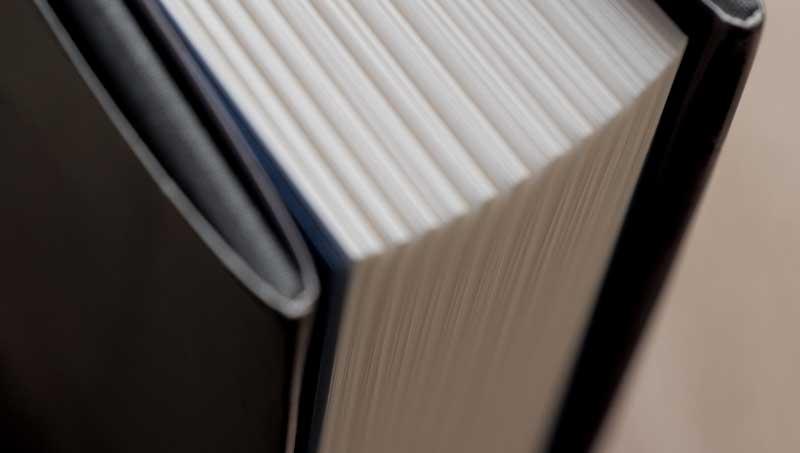 LifeTime Autobiography Page Close up